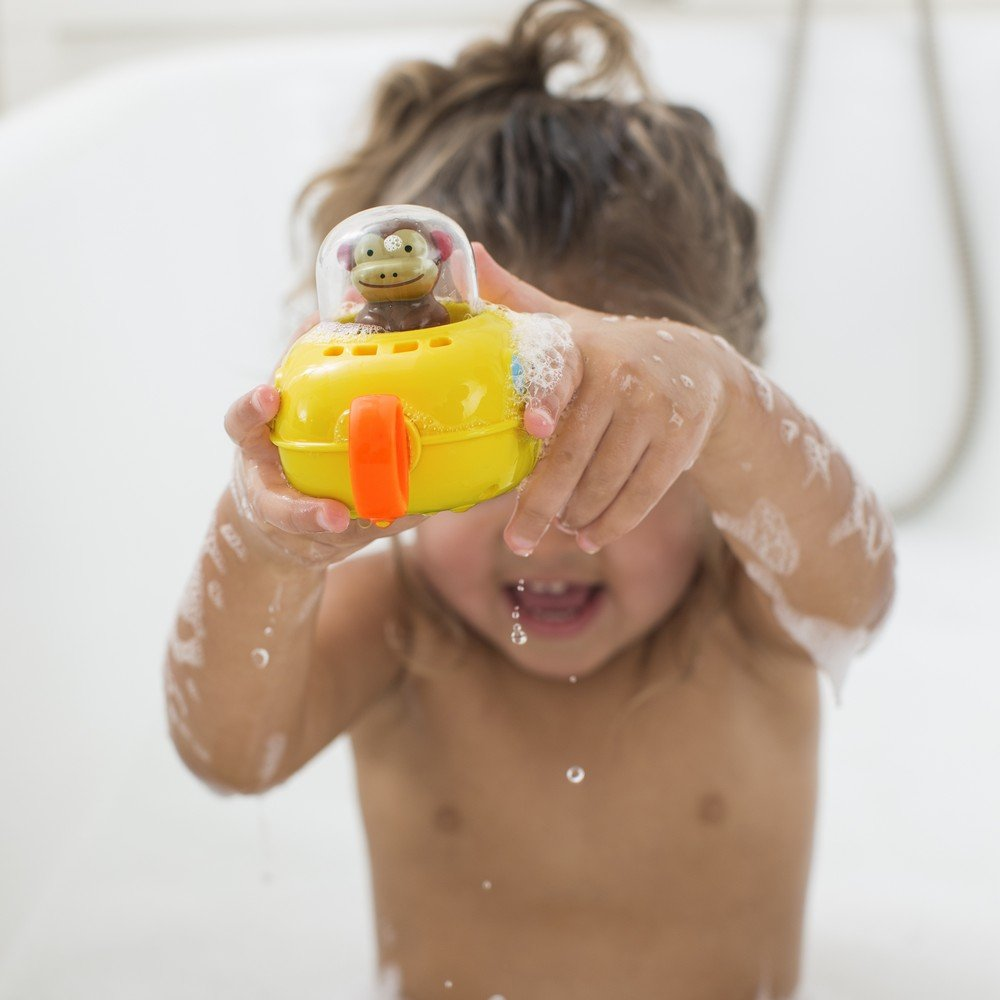 Amazon.com : Skip Hop Zoo Bath Pull and Go Submarine, Monkey : Baby