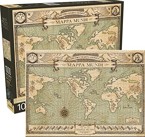 Aquarius Fantastic Beasts Map 1000 Piece Jigsaw Puzzle
