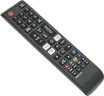 ALLIMITY BN59-01315B Reemplace el Control Remoto por Samsung UHD 4K Smart TV UE50RU7175U UE75RU7100K UE65RU7102K UE55RU7305K UE55RU7100K UE49RU7379U UE43RU7102K UE75RU7170S UE65RU7172U UE50RU7105K ...