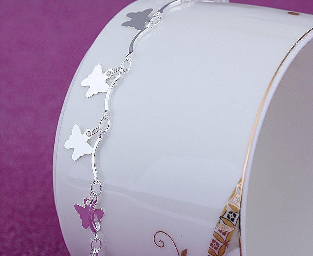 Lovind Fashion Anklet Butterfly Bracelet Anklet Beautiful Bracelet Girl Gift