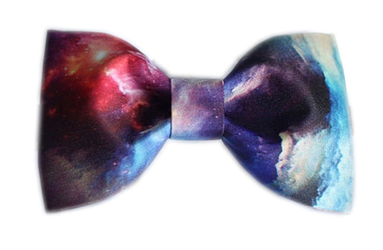 Dise?o De Corbata Nebulosa Estampados Textiles Pajarita (Rojo ...