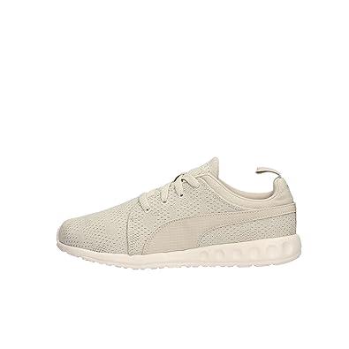 2acd4a9e3bc9 Puma CARSON CAMO MESH Beige Unisex Sneakers Shoes Evertrack