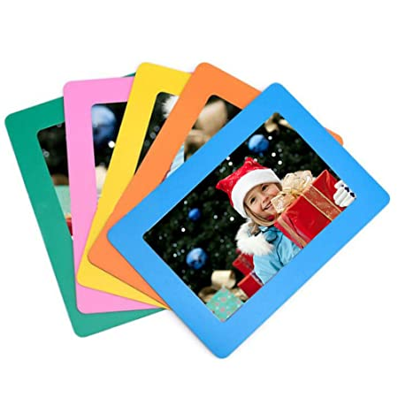 5 Pack Sftlite Magnetic Photo Frame Fridge Standard 4 X 6 Inch