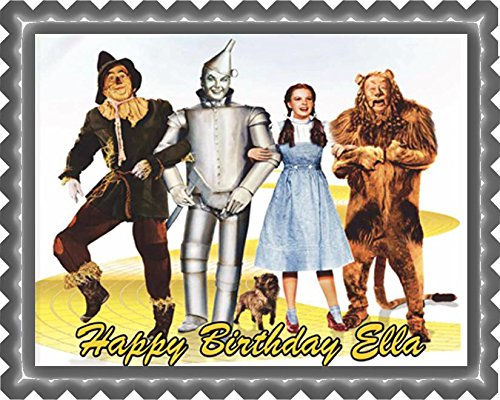 The Wizard of Oz - Edible Cake Topper - 7.5