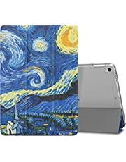 "MoKo Case Fit New iPad Air (3rd Generation) 10.5"" 2019/iPad Pro 10.5 2017 - Slim Lightweight Smart Shell Stand Cover with Translucent Frosted Back Protector - Starry Night (Auto Wake/Sleep)"