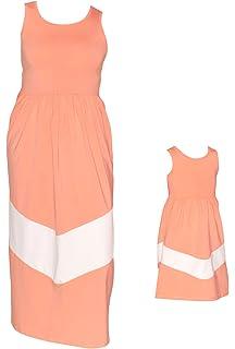 c30e49f3da8e Amazon.com  Hatoys Mom and Daughter Matching Outfits