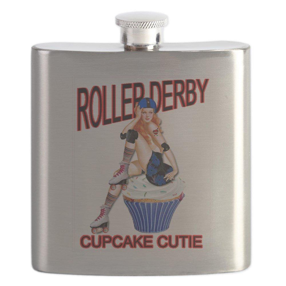 【超特価sale開催!】 CafePress CafePress – Roller Roller Derby Cutie Cupcake Cutie – ステンレススチールフラスコ、6オンスDrinkingフラスコ B01IUHJO88, アシオマチ:3b29b483 --- beautycity.in