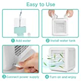 XIDIAOYE Portable Air Conditioner Fan, 3 in 1 Air