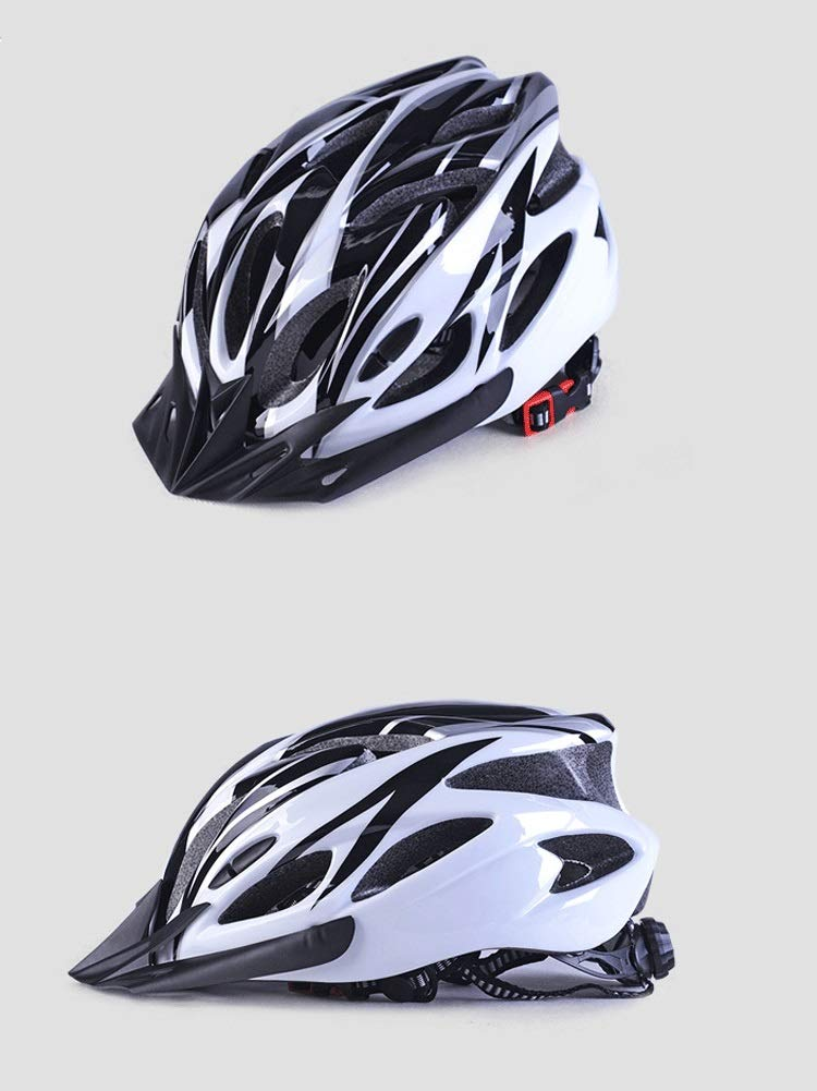 CXYGSJJ Cycle Helmet Mountain Bicycle Helmet Vents Adjustable Comfortable Safety Helmet for Outdoor Sport Riding Bike Color : A