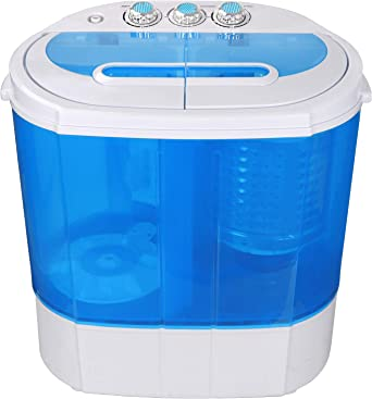 SUPER DEAL Portable Compact Washing Machine M