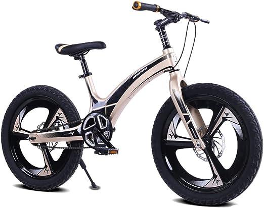 LISI Bicicleta de los niños de aleación de magnesio de 20 Pulgadas ...