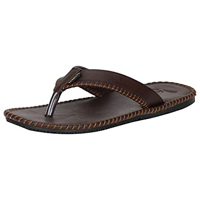 5364353503b2 Kraasa Men s Synthetic Leather Flip-Flops  Buy Online at Low Prices ...