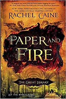 Image result for paper and fire by rachel caine amazon