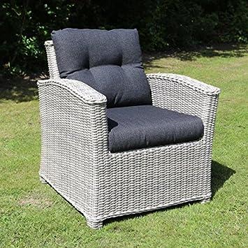 Amazonde Destiny Loungesessel Riviera Vintage Weiß Lounge Sessel