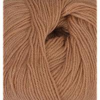 Lovable Acrylic Hand Knitting Yarn (Brown)