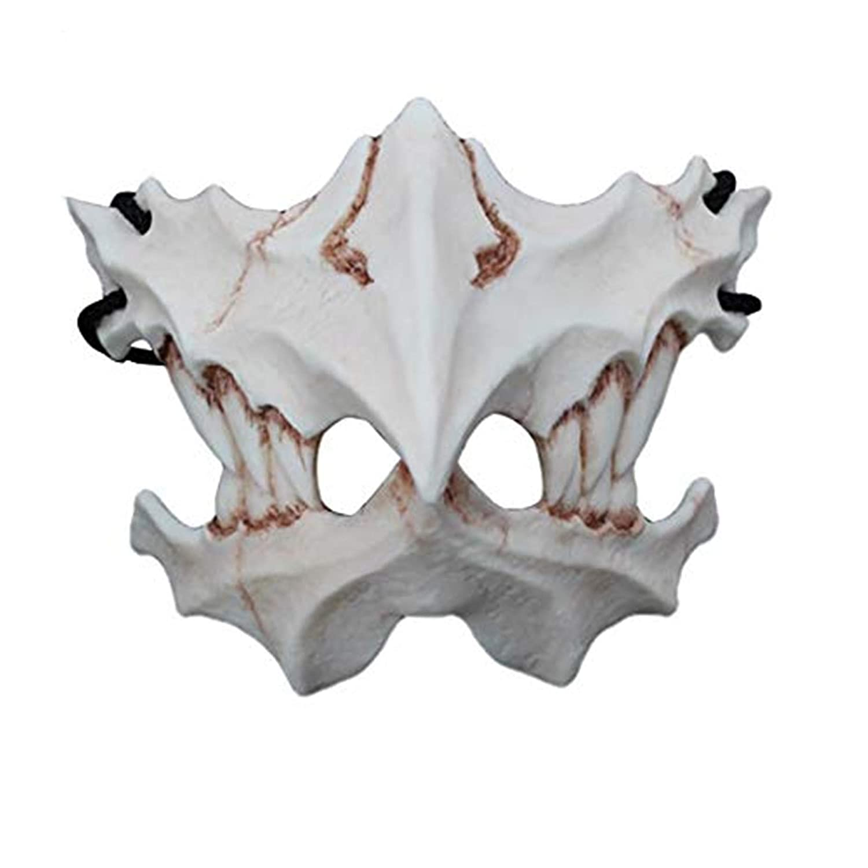Amazon.com: Halloween Mask Horror Resin Masque Scary Demon ...