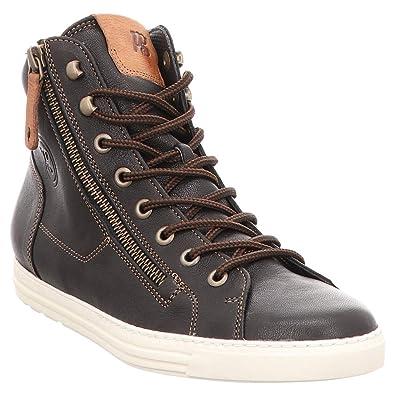 25ce23c13b085f Paul Green 4675-013 Damen Sneaker Nubukleder Lederinnenausstattung ...