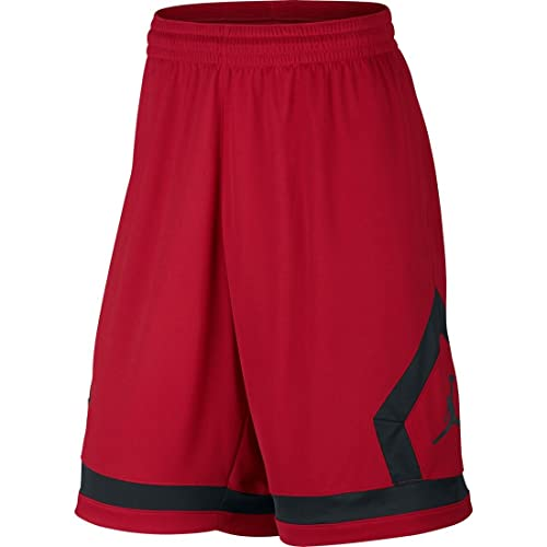 3392b3c0efd Amazon.com: Nike mens FLIGHT DIAMOND SHORT 799543-687_L - GYM  RED/BLACK/BLACK: Sports & Outdoors