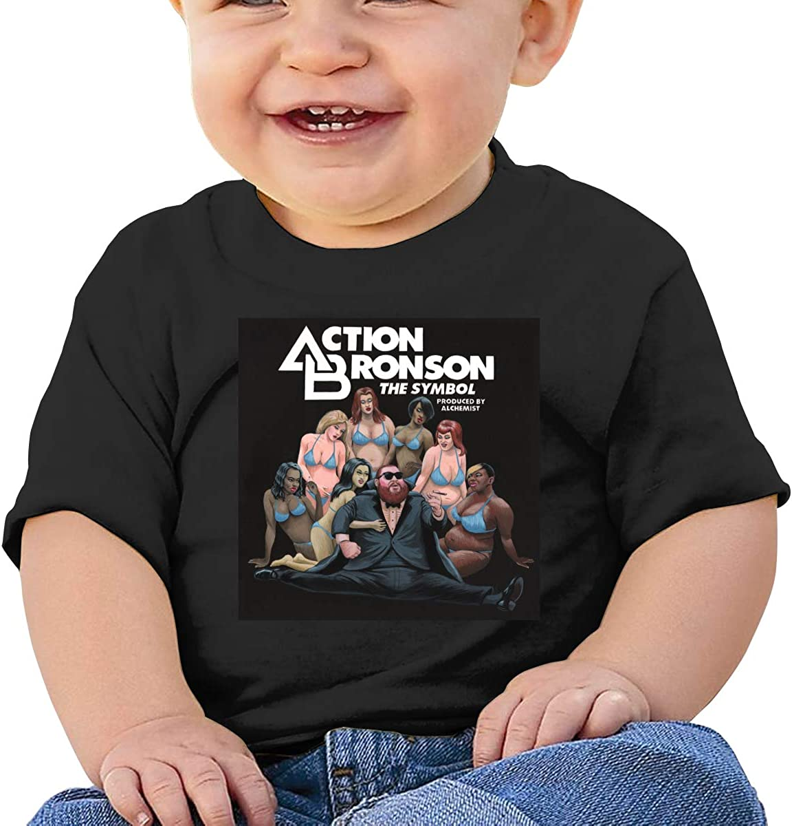 Side One Track One Shirt Toddler Cotton Tee Baby Action Bronson