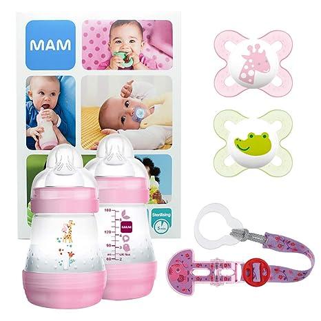 MAM Welcome Baby Starter Set, regalos para bebé, canastilla ...