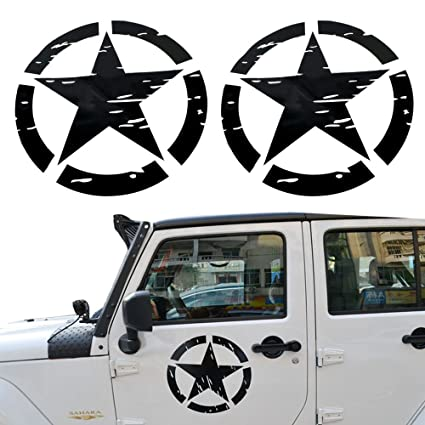 opar US Army Military Star Car Sticker Decal for Car/Truck/Ford F150/