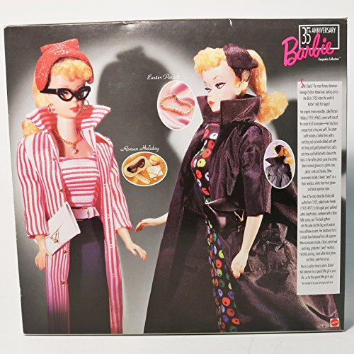 35th Anniversary Giftset 1959 Barbie Doll, Fashions and Package Reproduction