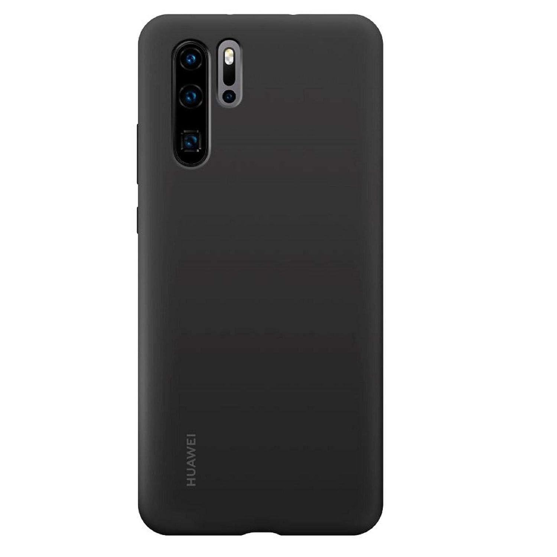 Funda Oficial De Huawei  Silicona Para Huawei P30 Pro Negro