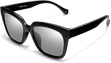vegoos Gafas de sol para Hombre Mujer Polarizadas Clásico Retro ...
