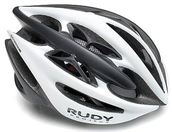 Rudy Project Sterling - Casco de Bicicleta - Blanco/Negro Contorno de la Cabeza S-M