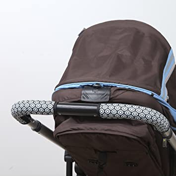 Manito Flower/_black Clean Grip STOKKE XPLORY baby pushchair handle cover