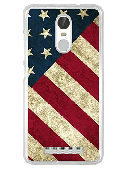 the best attitude c3b50 c1e4c RedMi Note 3 Back Cover - American Flag Art: Amazon.in: Electronics
