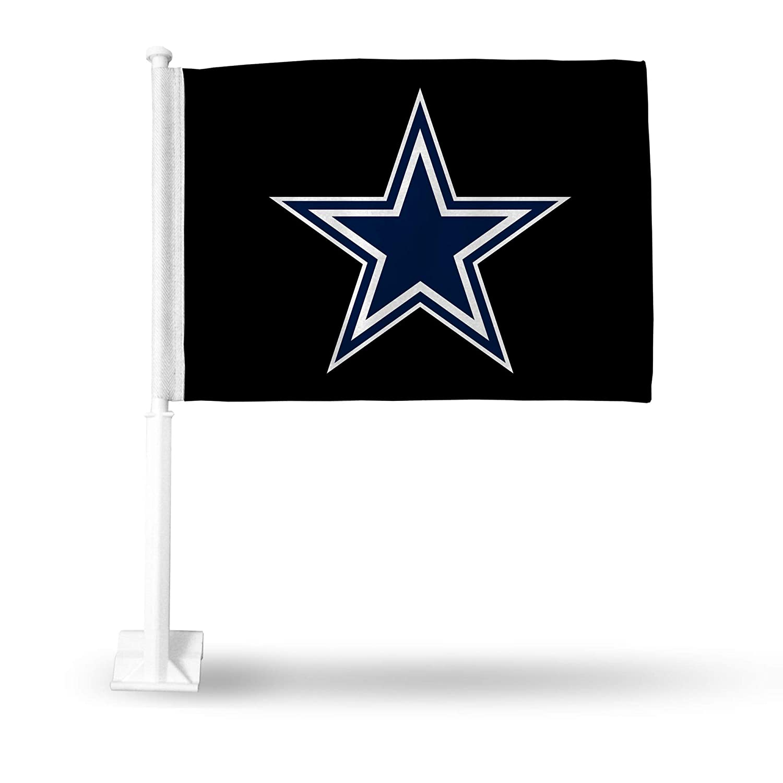 Rico Dallas Cowboys NFL 11X14 Window Mount 2-Sided Car Flag