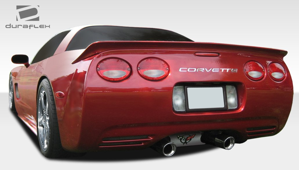 Extreme Dimensions Duraflex Replacement for 1997-2004 Chevrolet Corvette C5 AC Edition Rear Wing Trunk Lid Spoiler 1 Piece
