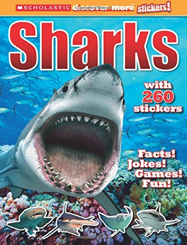 Scholastic Discover More Stickers: Sharks