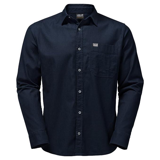 Jack Wolfskin Men's River Shirt: Amazon.co.uk: Clothing