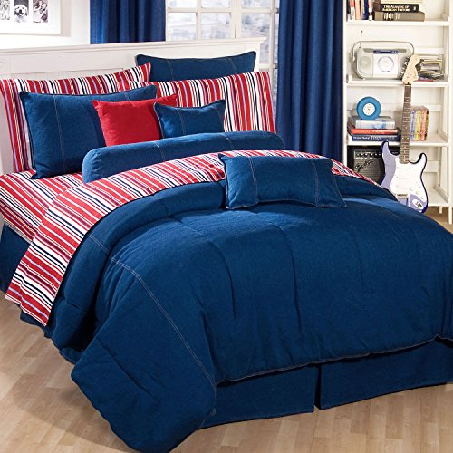 Springfield Bedding American Denim Twin Comforter Only