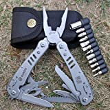 Ganzo knife survival tool pliers multifunctional outdoor camping hunting fishing multi folding knife pocket EDC tactical pliers Ganzo G301