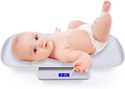 Multi-Function Digital Baby Scale with Weight and Height Track