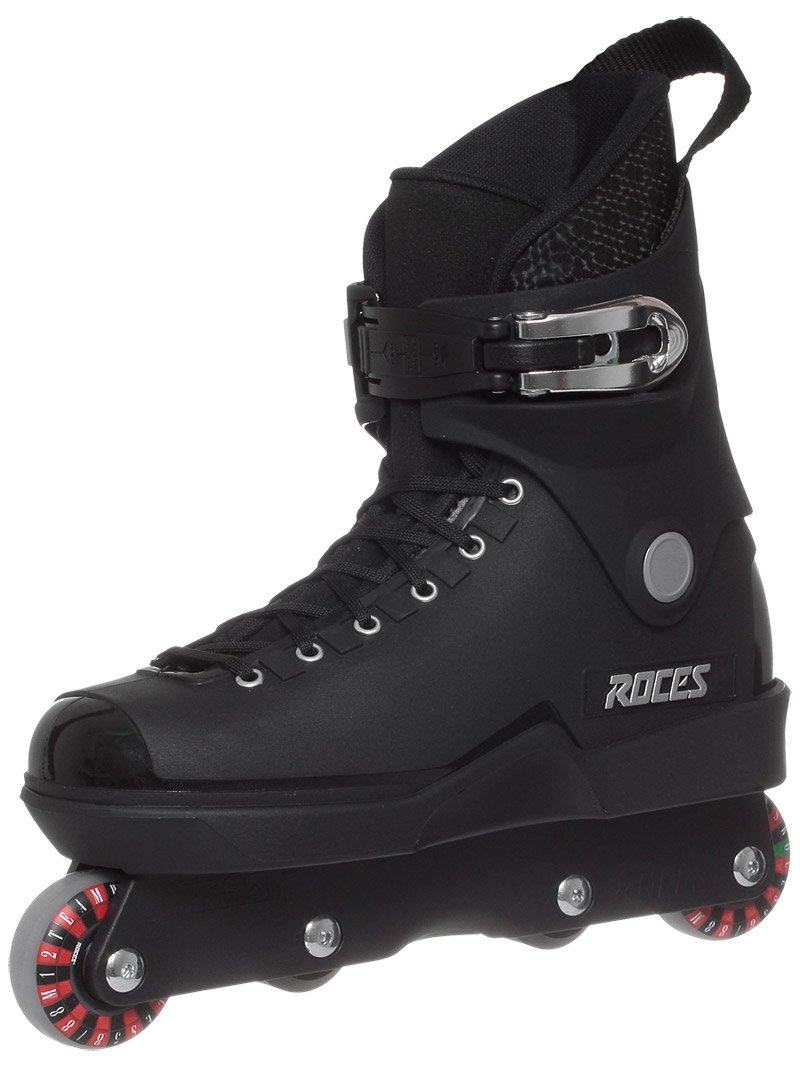 Roces Men's ''M12 UFS'' Aggressive Street Inline Skates. Black. Superior Italian Design. New! S670-5-BLK (11)
