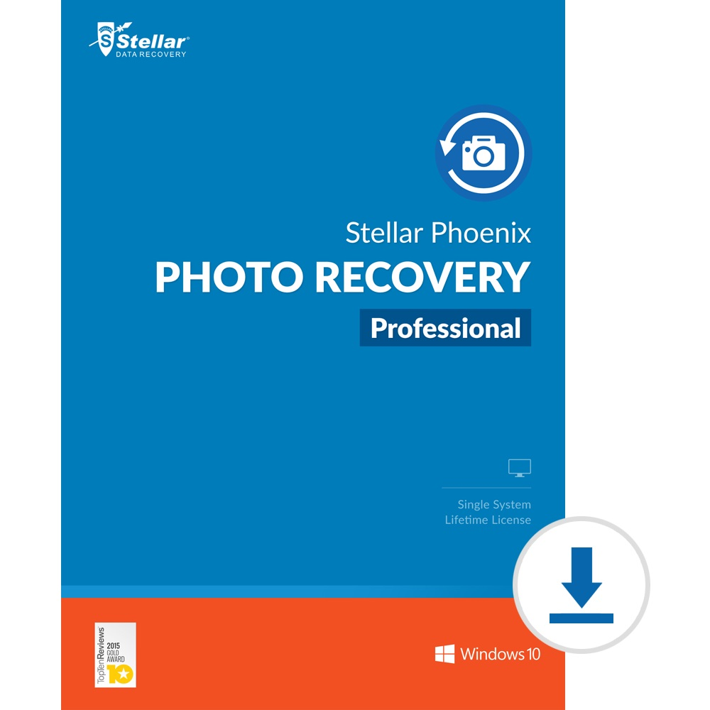 Stellar Photo Recovery Software | for Windows | Professional | Recover & Repair Deleted or Corrupt Photos, Audios, Videos | 1 Device, 1 Yr Subscription | Instant Download (Email Delivery) by Stellar Data Recovery