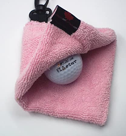A99 Microfiber Golf Ball Towel with Retractable Reel