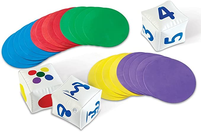 Learning Resources actividades para el aula Ready, Set, Move, color (LER1883) , color/modelo surtido: Learning Resources Ready Set Move Classroom Activity Set: Amazon.es: Juguetes y juegos
