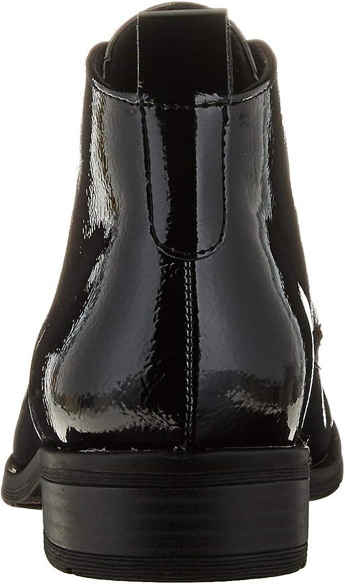 MARCO TOZZI Damen 2-2-25120-35 Chukka-Stiefel Black Patent