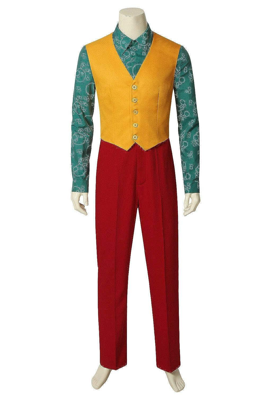 Joker Cosplay Joaquin Phoenix Full Set Suit Cosplay Costume Halloween