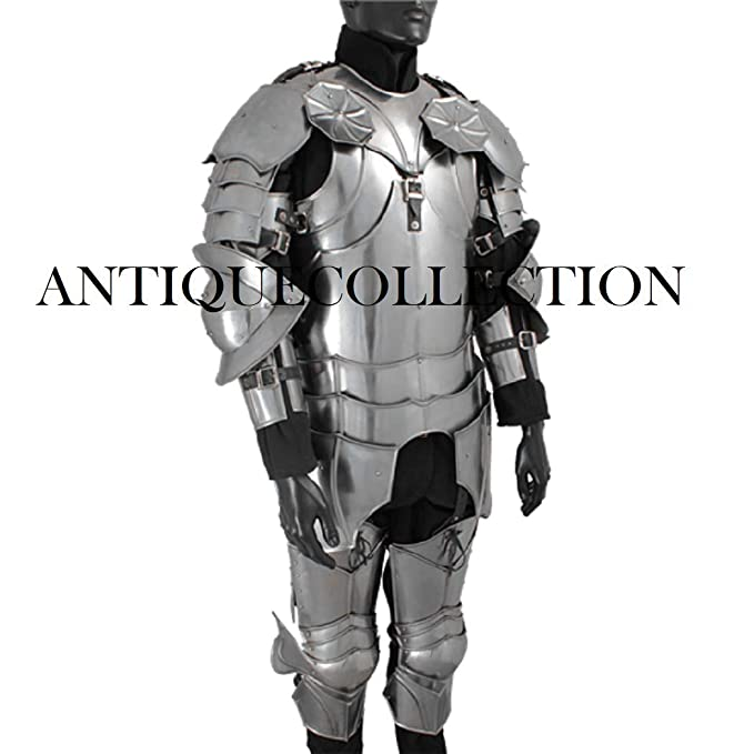 Amazon.com: Traje gótico de armadura – armadura completa ...