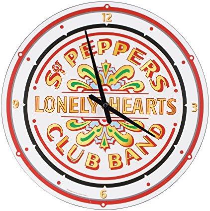 Vandor Beatles SGT. Pepper s Cordless Wall Clock