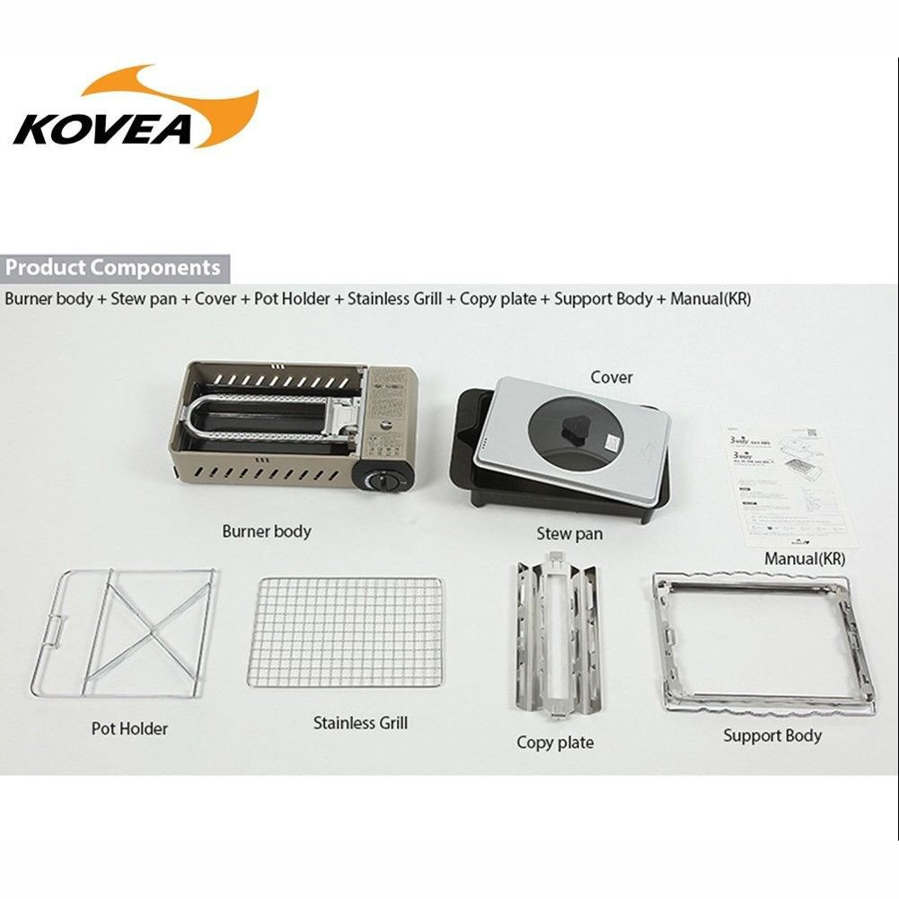 Amazon com : KOVEA-OEM 3 WAy All-in-one GAS Stove large
