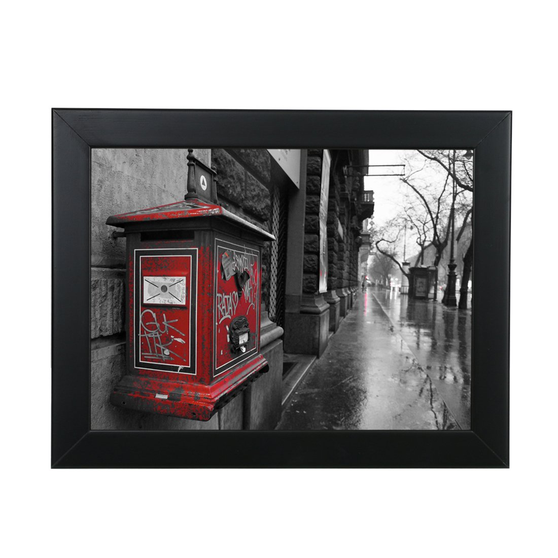Bojin Black 10 By 12 25x30 Cm Wood Family Picture Frame