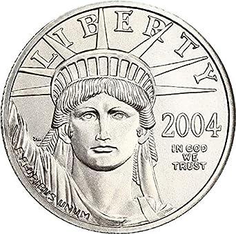 2004 1//4 oz $25 Platinum American Eagle NGC MS 69