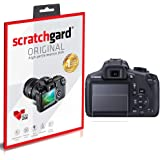 Scratchgard Ultra Clear Screen Protector for Canon EOS 1300D